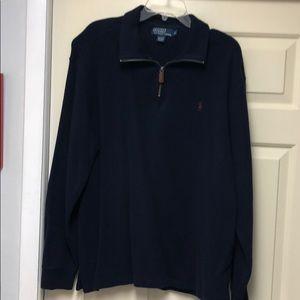Men's Polo Sweatshirt by Ralph Lauren in Ex Cond.